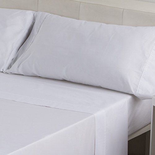 Sedalinne Sábanas HOTELES - Funda Almohada Calidad 30/27 144 Hilos 50% algodón - 50% poliéster...