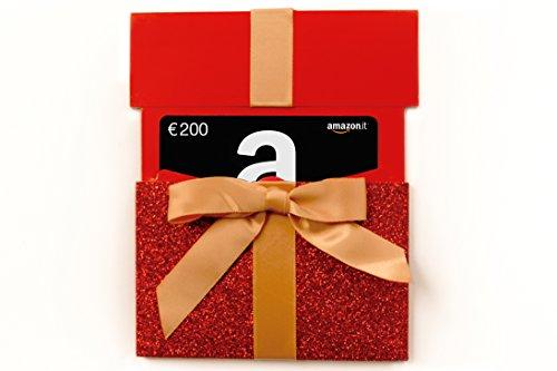 Buono Regalo Amazon.it - €200 (Busta Natale)