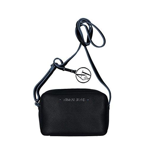 Armani Jeans shoudler bag woman Pvc Plastic black