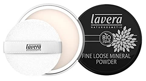 Lavera Fine Loose Mineral Powder, Transparent