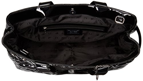 Armani Jeans 9225916a752, shoppers Noir - Schwarz (NERO 00020)