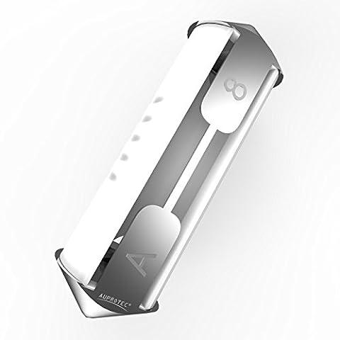 Auprotec® Torpedo fusible ceramique 5A - 40A fusibles modèle Bosch choix: 8A Ampere blanc, 10 pièces