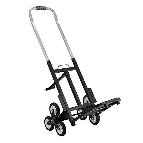 Tecmaqui Carretilla Carga Escaleras Capacidad 150kg