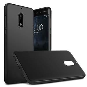 promo code e6099 235e4 Tarkan Soft Back Cover For Nokia 6 (Matte Black)
