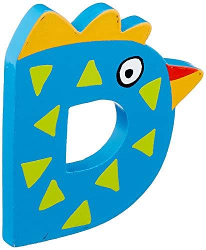 """Tatiri 72013 Holzbuchstabe""""crazy bird - D"""", 7 cm"""