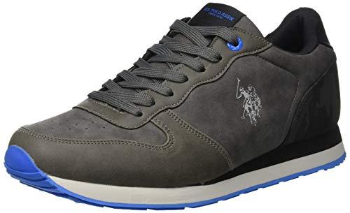 U.S. Polo Assn. SHERIDAN2 Club, Sneaker Uomo, Grigio Grey, 41 EU