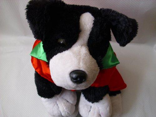Hundebekleidung Hunde Nikolaus Weihnachten Hundemantel Mantel Tierdress Tierbekleidung Farbe: Rot / Grün Gr. M : 25 x 20cm Neu! Weihnachtsmantel