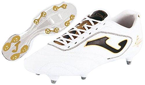 Joma Aguila Gol - Scarpe da calcio da uomo, colore bianco / oro.  Taglia 43