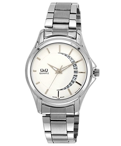 Q&Q Analog White Dial Men's Watch - A436-201Y image