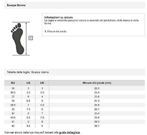 Lotto Gliderun W, Chaussures de Running Entrainement Femme Noir / gris (noir / gris titan)
