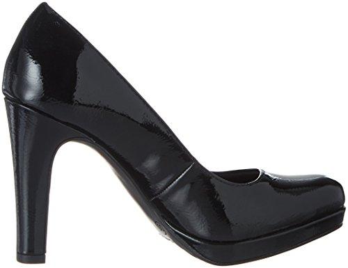 Tamaris 22426, Escarpins Femme Noir (Black Patent)