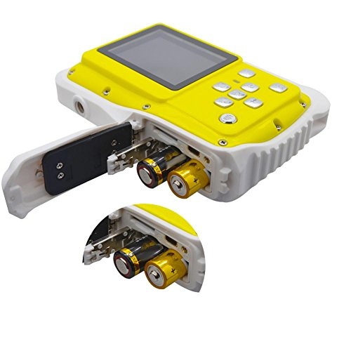 iBaste Kinder Digitalkamera Wasserdicht Kamera Wasser Staubdicht Kamera 5MP 3 Meter Wasserdicht 720 P 12 MP