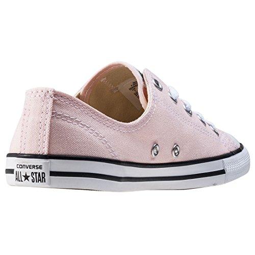 Converse All Star Chaussures Baskets Mode Femme Semelle Fine Dainty En Toile (Vapor Pink - Rose) Rose