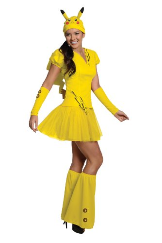 Womens Pikachu Fancy dress costume Small