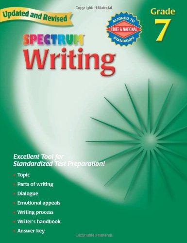 Spectrum Writing: Grade 7
