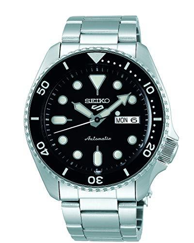 SEIKO Automatische Uhr SRPD55K1, schwarz, Sport