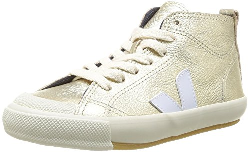 Veja Botinha Lace & Zip, Boots fille Or (Gold Pierre)
