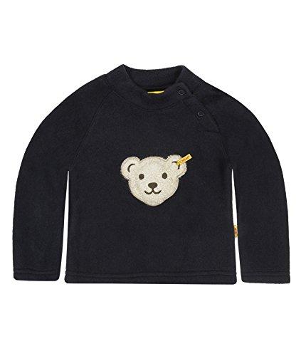 Steiff Steiff Unisex Baby Sweatshirt 0006878 Sweatshirt 1/1 Sleeves, Blau - Bleu - Blue (Steiff Marine), 3-6 Monate (Herstellergröße:62)