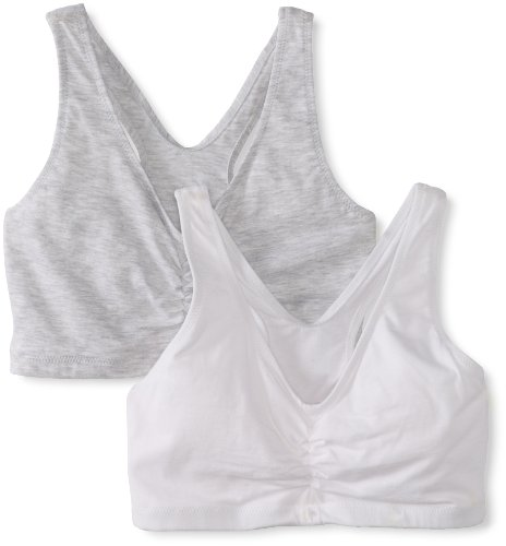 hanes-womens-comfort-blend-flex-fit-pullover-bra-pack-of-2heather-grey-whitexxx-large