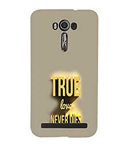 EPICCASE True Love Mobile Back Case Cover For Asus Zenfone 2 (Designer Case)