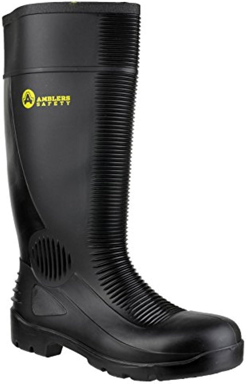 Amblers FS100 Safety Black Wellingtons Wellingtons Size 48   EU / UK