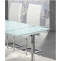 Amazon.es: mesa cristal extensible comedor - Mesas / Comedor: Hogar ...