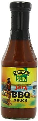 Tropical Sun Jerk BBQ Sauce 510 g (Pack of 6)