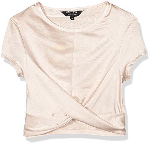 new-look-twist-front-slinky-crop-top-fille-beige-beige-nude-12-13-ans