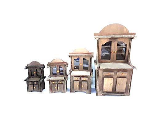 1 Mobile credenza in Legno Alto 9,5cm da Maestri Artigiani San Gregorio armeno PRESEPE San G. ARMENO ricevi Un Portachiavi Omaggio Gia
