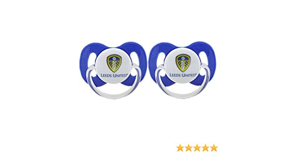 dfaeef6d23 Leeds United FC Soothers (2 Pack)  Amazon.co.uk  Kitchen   Home