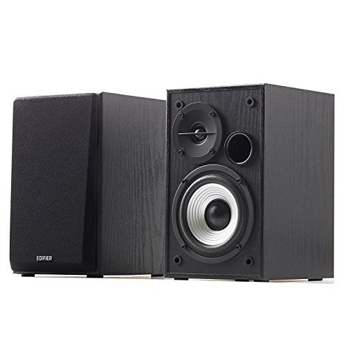 Edifier R980T 4 Active Bookshelf Speakers - 2.0 Computer Speaker - Powered Studio Monitor Pair  available at amazon for Rs.12799