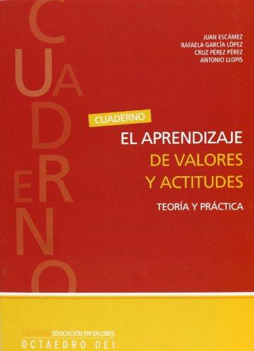 El aprendizaje de valores y actitudes: Teoría y practica (Educación en valores)