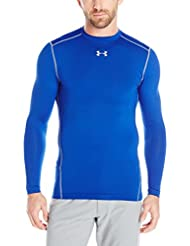 Under Armour CG ARMOUR CREW - Camiseta de manga larga para Hombre, Azul Midnight Navy, XL