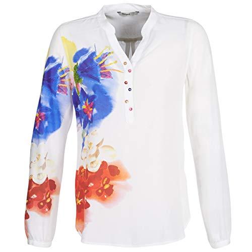 Desigual IBISCUS Hemden Damen Multifarben - M - Hemden