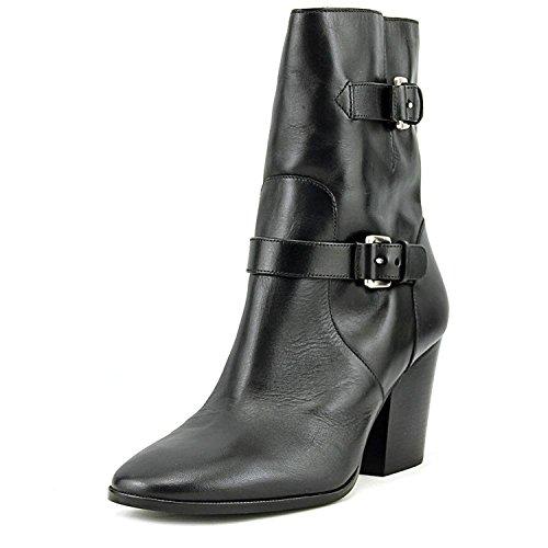 Michael Michael Kors Women's Ashton Mid Bootie Black Vachetta Boot 8.5 - Michael Boots Kors