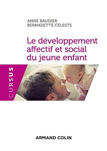 Le développement affectif et social du jeune enfant - 3e éd. - NP