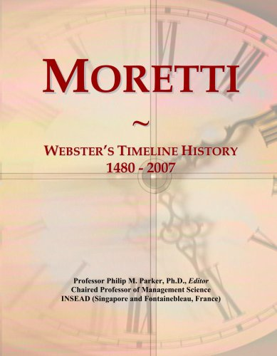 moretti-websters-timeline-history-1480-2007