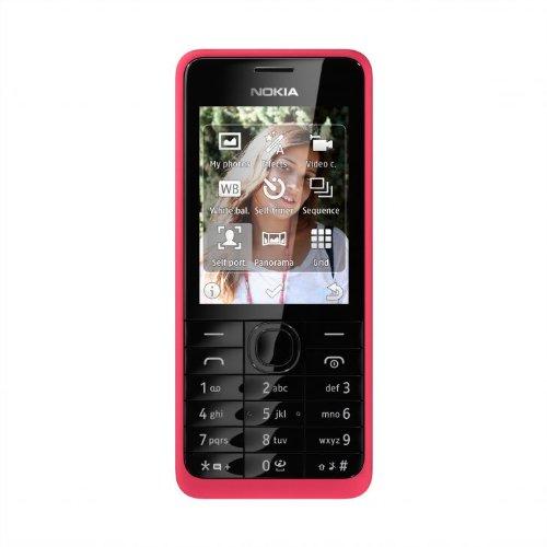 Nokia 301 - Tel  fono m  vil  61 mm  2 4    240 x 320 Pixeles  LCD  microSD  TransFlash   64 MB  32 GB   importado