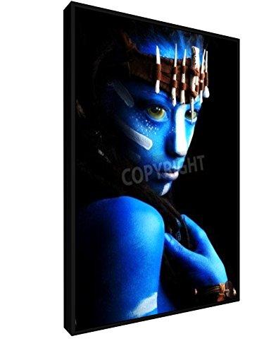 Fantasie - 40x60 cm - Leinwandbild mit Schattenfugenrahmen - Wand-Bild - Kunst, Gemälde, Foto, Bild auf Leinwand mit Rahmen - (Avatar Home Kostüme)