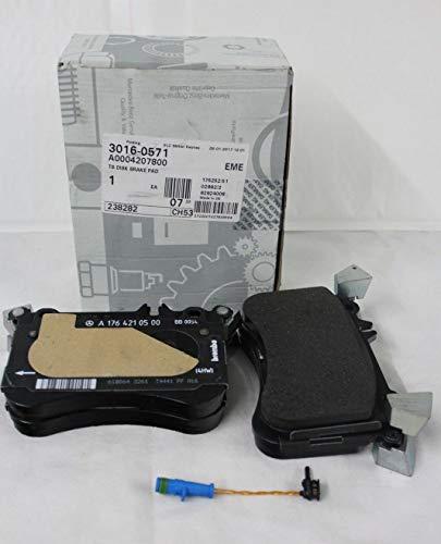 GTV INVESTMENT MB A W176 AMG - Set pastiglie freno anteriore A0004207800