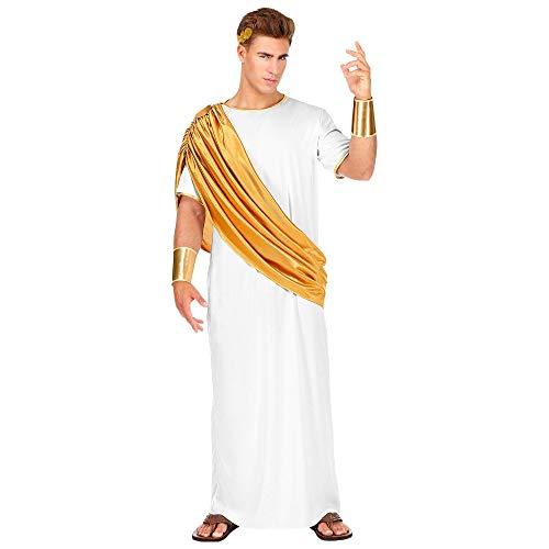 Widmann 07873 Kostüm Caesar, Herren, Weiß, (Auf Feuer Kostüm)