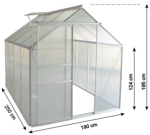 zelsius-aluminium-gewaechshaus-garten-treibhaus-in-verschiedenen-groessen-mit-hohlkammerstegplatten-wahlweise-mit-stahl-fundament-rahmen-190-x-250-cm-6-mm-platten-ohne-fundament-2