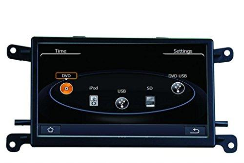 Generic 6,5pollici auto stereo per Audi A5/A4/Q5Auto CD Lettore DVD GPS Navigation RDS IPOD Bluetooth phondbook AUX ATV Volante Controllo Canbus Radio Video Audio Stereo multimediale