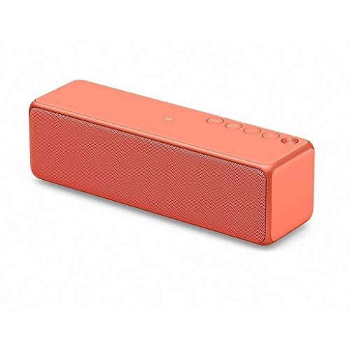 PM Drahtlose Bluetooth Lautsprecher Tragbare Mini Lautsprecher Home Subwoofer Wasserdichte Autolautsprecher Twilight Red ()