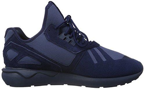 adidas Tubular Runner, Chaussures de Running Compétition Homme Bleu - Blau (Night Indigo/Night Indigo/Mineral)