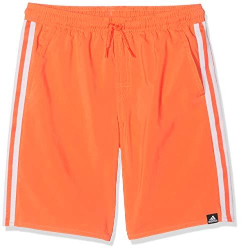 adidas Kinder YB 3S SH CL Badehose, True Orange, L