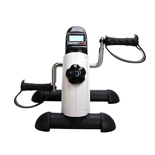 WXX Faltbarer Pedaltrainer mit LCD-Display, Fitness-Cycle-Digitaltrainer Fahrrad fixiert, Förderung der Durchblutung