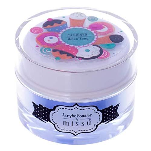 Missu - polvere acrilica colorata per unghie, sky light