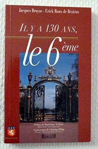 Il y a 130 ans le sixieme arrondissement                                                      103197