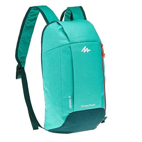 7ba5cee1feda5 (Mint Green / Turquoise) - QUECHUA ARPENAZ 10 Litre HIKING BACKPACK - (Mint
